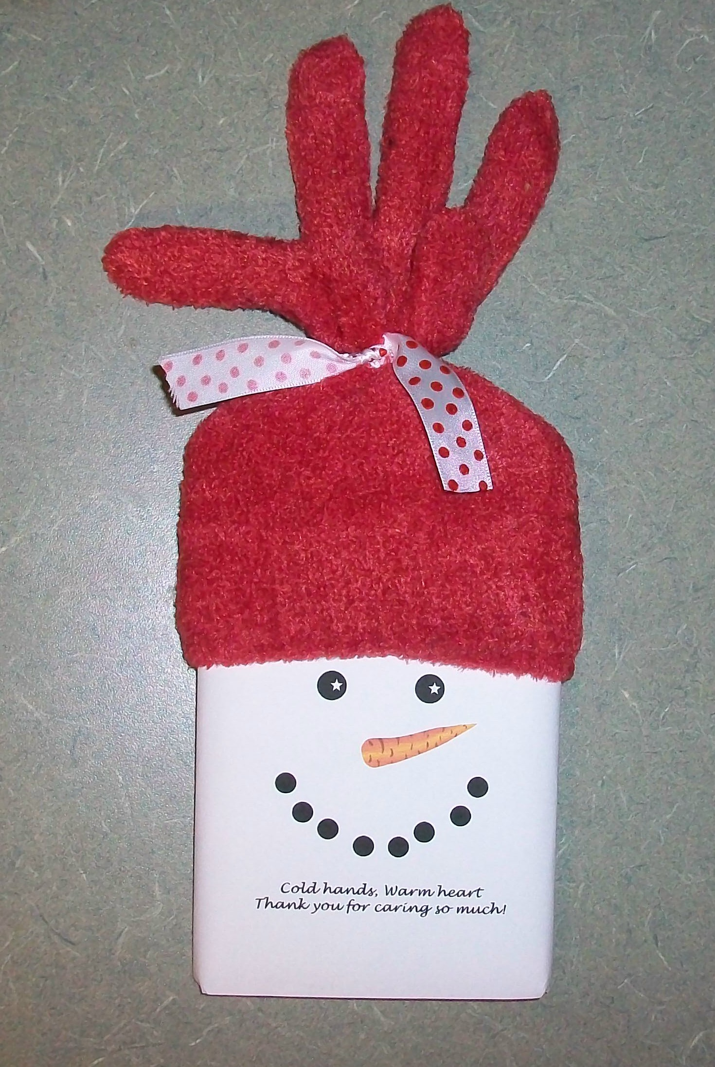 It's a Crafty Christmas: Snowman Popcorn Wrapper