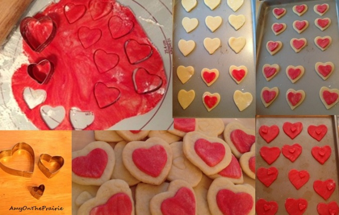 Valentine's Day Stacked Sugar Cookie Tutorial