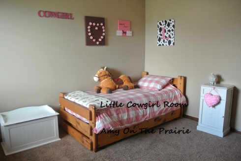Little cowgirl room